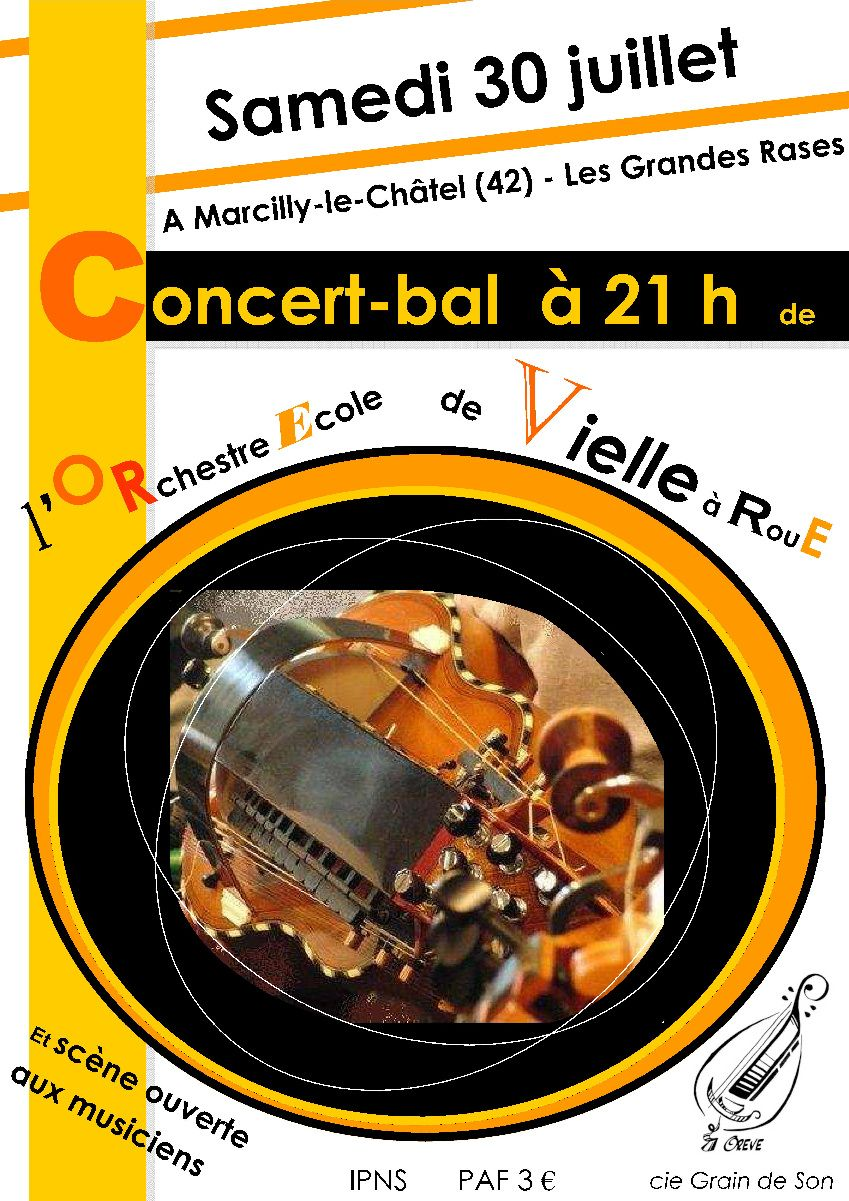 Affiche Marcilly le Chatel 2011